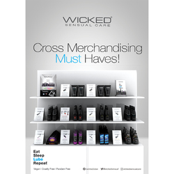 Category: Dropship Countertop Display, SKU #72993, Title: Wicked X-Merch Package
