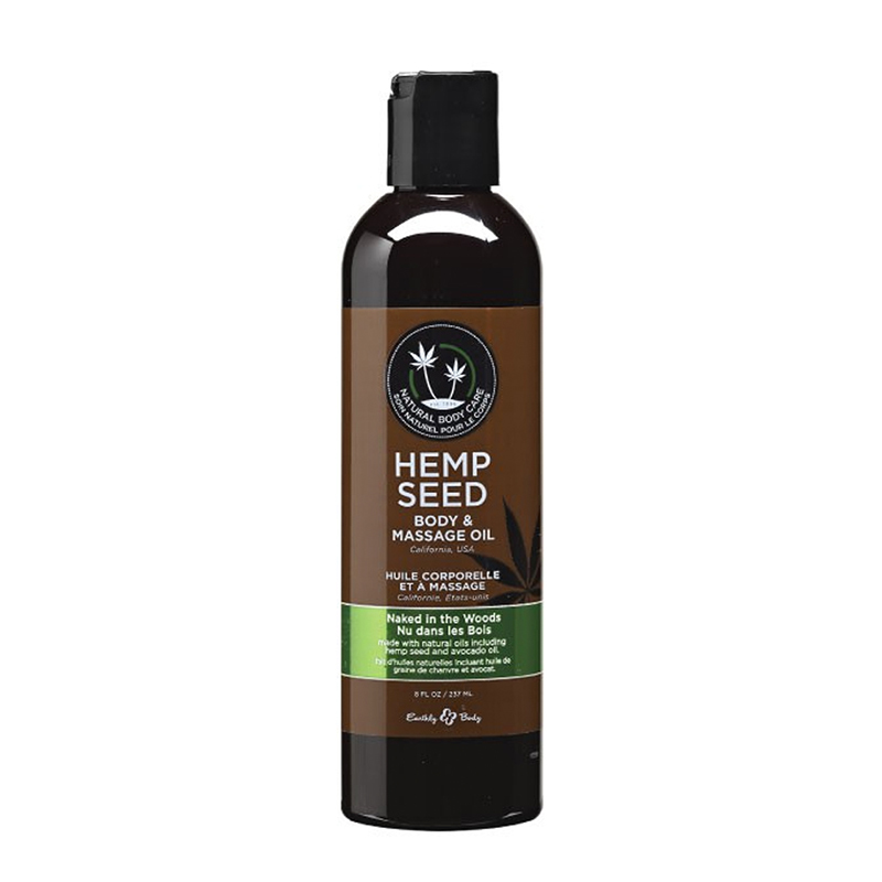 Earthly Body Hemp Seed Massage Lotion - 2 oz Naked in the