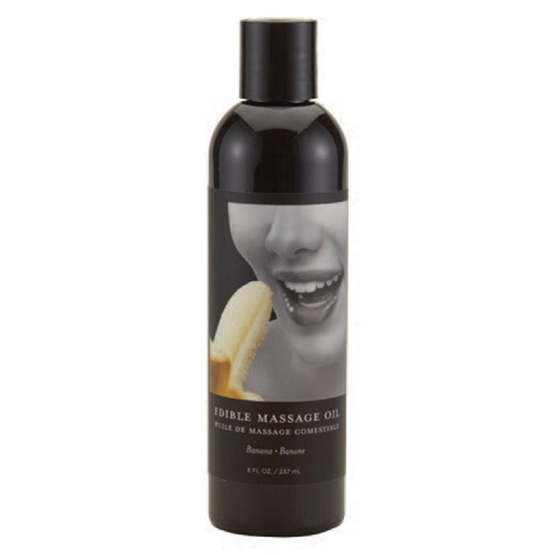 EB Edible Massage Oil Banana 8oz - Life Health Oils