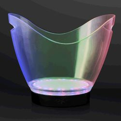Category: Dropship Arts & Entertainment, SKU #1400010, Title: Rechargeable Remote LED Ice Bucket