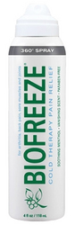 Biofreeze Cryotherapy 360 Degree Spray 4 oz.