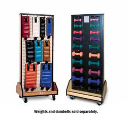 Combo Weight / Dumbell Mobile Rack