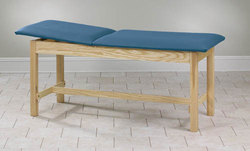 Treatment Table H-Brace Rising Top w/o Shelf 27x72x31