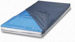 Category: Dropship Medical, SKU #10106A, Title: Gel-Pro Mattress 54 x76 x5  3-Section  Full Size