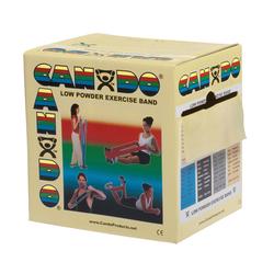 Cando Exercise Band Tan XX-Light 50-Yard Dispenser Box
