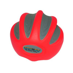 CanDo Digi-Squeeze Hand Exer Red Med Size Light Strength