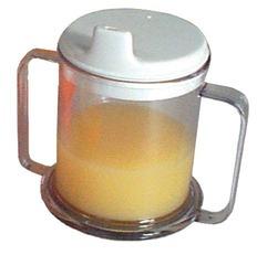 Mug Double-Handed w/Lid