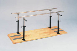 Platform Mounted Parallel Bars 10'