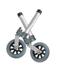 Comb. Swivel/Fixed Wheels 5 w/Lock & Rear Glides (pr)