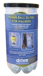 Tennis Ball Glides (2) (In Tennis Ball Can)