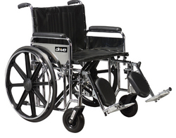 Bariatric Wheelchair Rem Desk Elev Legrests 22 Wide