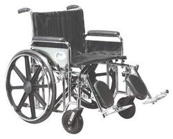 Bariatric Wheelchair Rem Desk Arms 24 Wide Elev Legrests