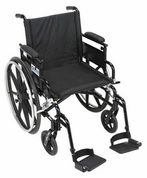 Viper Plus GT 16 Wheelchair w/Adj Height Desk Arms & ELR