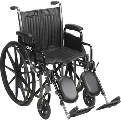 Wheelchair Econ Rem Full Arms 20 w/ Swing-Away Footrests