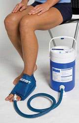 Aircast Cryo/ Cuff System- Med Foot & Cooler