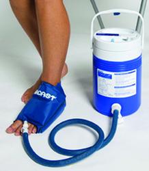 Aircast Cryo/ Cuff System- Ankle Cuff w/Cooler Pediatric