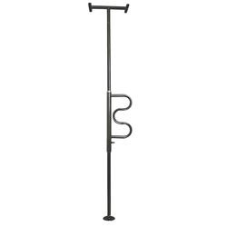 The Curve Security Pole Black