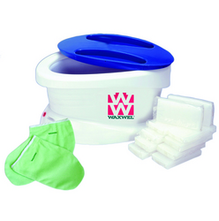 WaxWel Paraffin Unit w/6lbs Unscented Wax