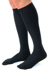 Jobst for Men Casual Medical Legwear 15-20mmHg Large Black