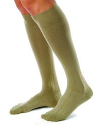 Jobst for Men Casual Medical Legwear 20-30mmHg Small Khaki