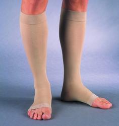 Jobst Relief 20-30 Knee-Hi Open-Toe Medium Beige (pair)