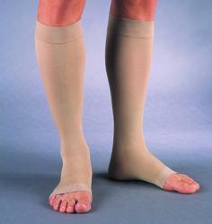 Jobst Relief 30-40 Knee-Hi O/T Beige Large Full Calf (pair)