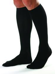 Jobst For Men 15-20 Knee-Hi White Large (pair)