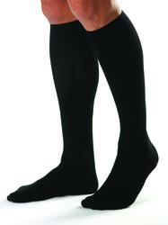 Jobst For Men 20-30 Knee-Hi Black Large (pair)