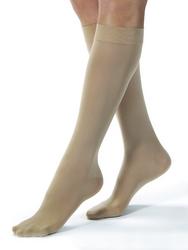 Jobst Opaque 15-20 Knee-Hi Silky Beige Large