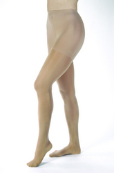 Jobst Opaque Pantyhose 30-40 Sillky Beige Small