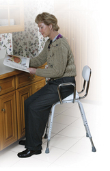 Kitchen (All-Purpose) Stool w/Adjustable Arms