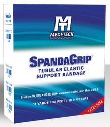 SpandaGrip Elastic Tubular Bandage - J 6-3/4 Latex Free