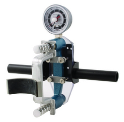 Grip Strength Dynamometer HD w/3 Pads & Stabilizer Hndl