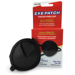 Eye Patch Vinyl Convex Carded