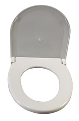 Toilet Seat w/Lid Oblong Oversized