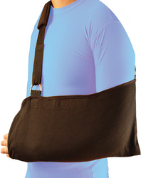 Bell-Horn Arm Sling Universal Black w/Padded Shoulder Strap