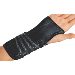 Bell-Horn Wrist Brace Suede Medium Left 6.5 -7.5