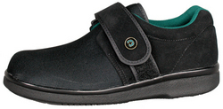 Gentle Step Diabetic Shoe W-12 M-10è Extra Wide Black pr