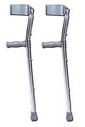 Forearm Crutch- Adj Forearm- Adult 21 -30 (pair)