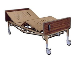 Bariatric Bed 54 W Mattress & 1 Pr. T Rails