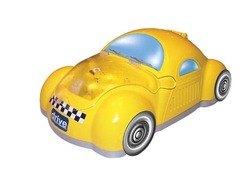 Checker Car Nebulizer Yellow
