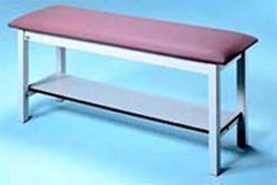 H-Brace Treatment Table W/ Shelf 30 x72 x30