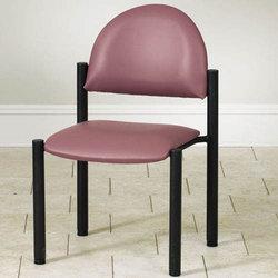 Waiting Room Black Frame Chair w/o Arms