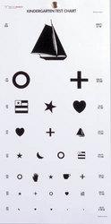 Kindergarten Eye Chart 22 x11