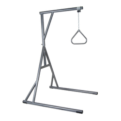 Bariatric Free Standing Trapeze 650 Lb Cap(Slvr Vein)