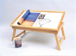 Bed Tray Wooden-Tilt