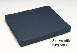 Foam Wheelchair Cushion Black 18 W x 16 D x 3