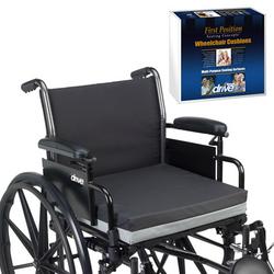 Wheelchair Cushion Gel/Foam 18 x 16 x 3 Case/4