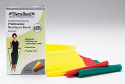 Thera-Band 5' Combo Pack- Light Latex-Free