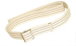 Gait Belt w/Metal Buckle 2x53 Striped